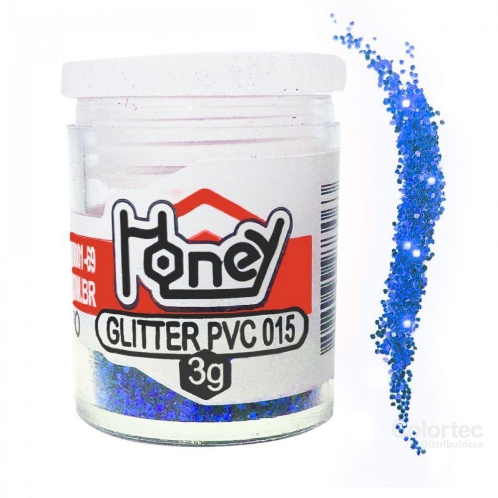 Glitter 3g azul royal Honey