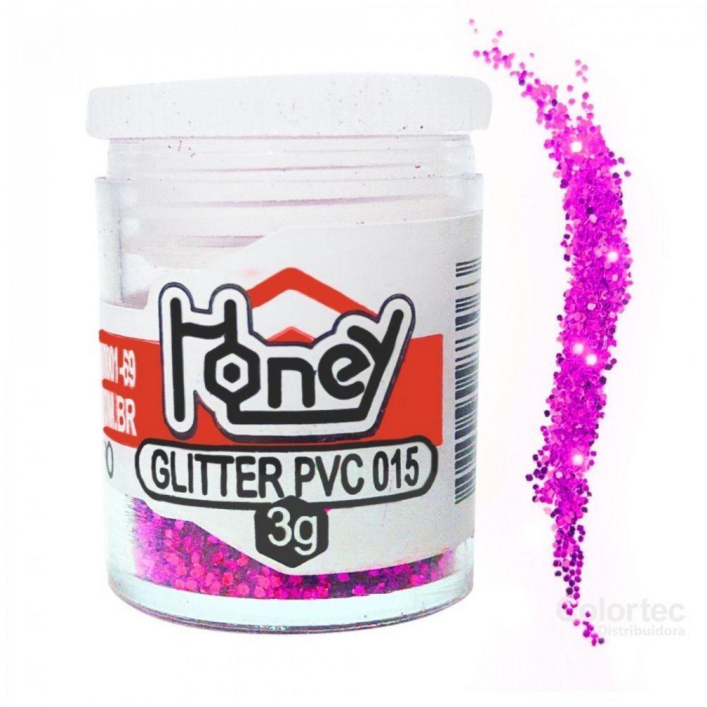 Glitter 3g rosa Honey