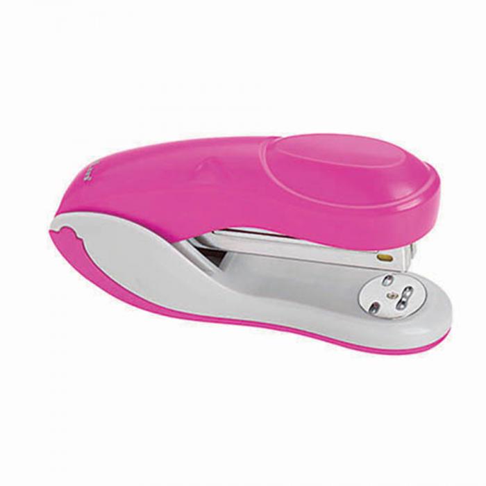 Grampeador para 16 folhas rosa New Style Molin