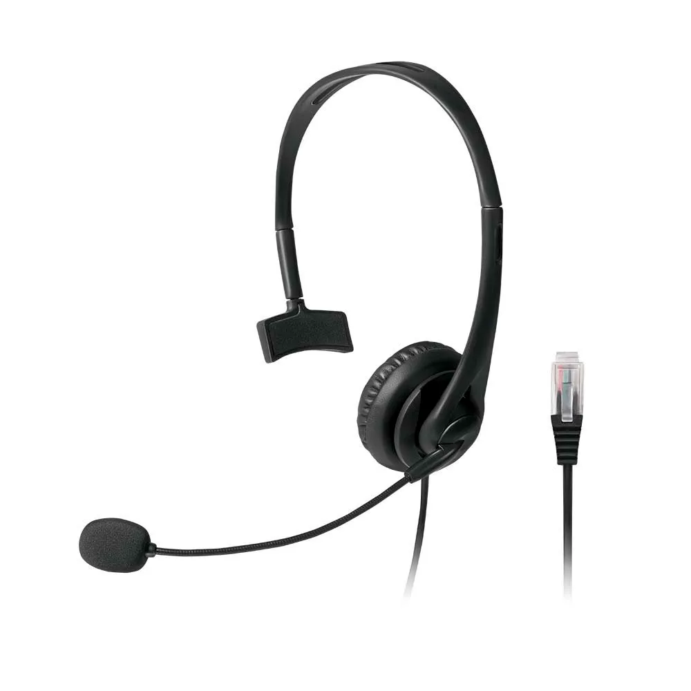 Headset profissional para telefone PH251 Multilaser