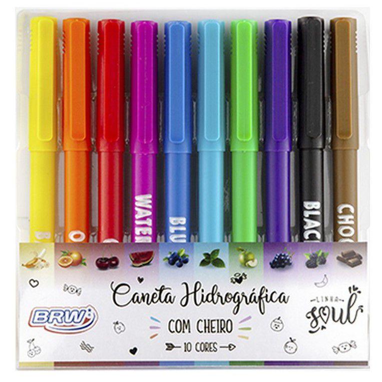 Hidrográfica 10 cores com cheiro Brw