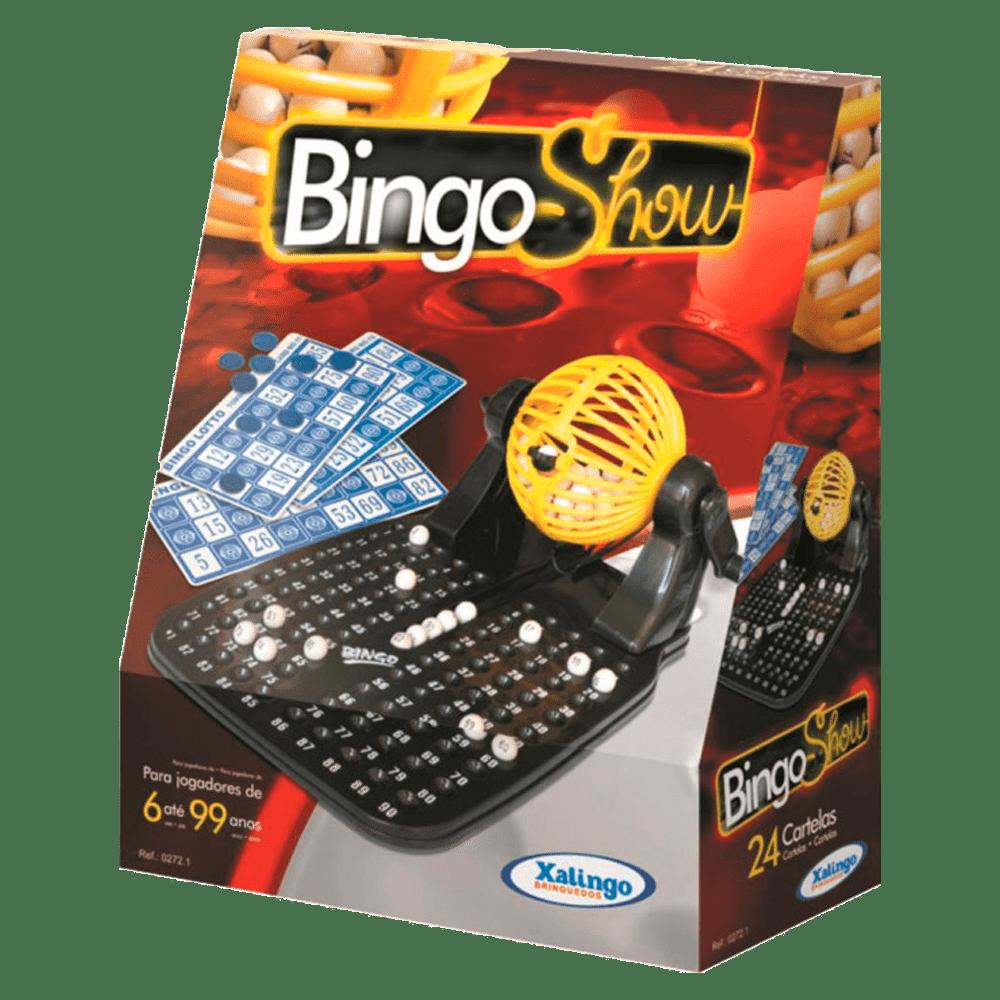 Jogo bingo show 24 cartelas Xalingo