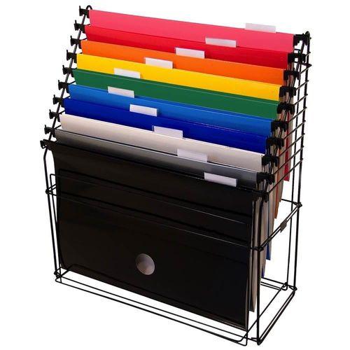 Kit aramado 10 pastas suspensas coloridas Dello