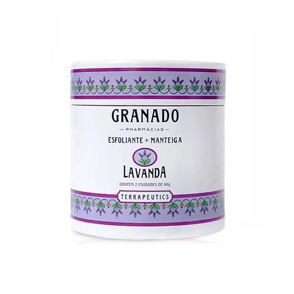 Kit esfoliante + manteiga Lavanda Granado