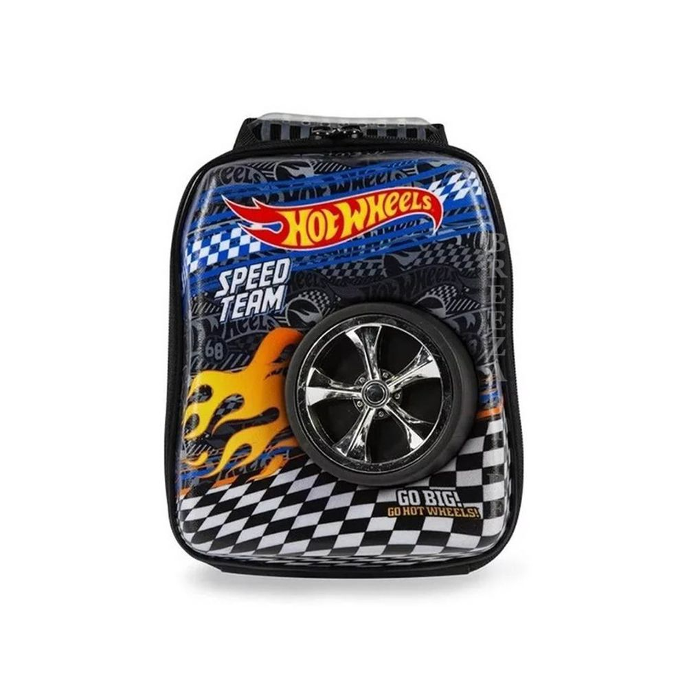 Lancheira costa 3D Hot Wheels Diplomata