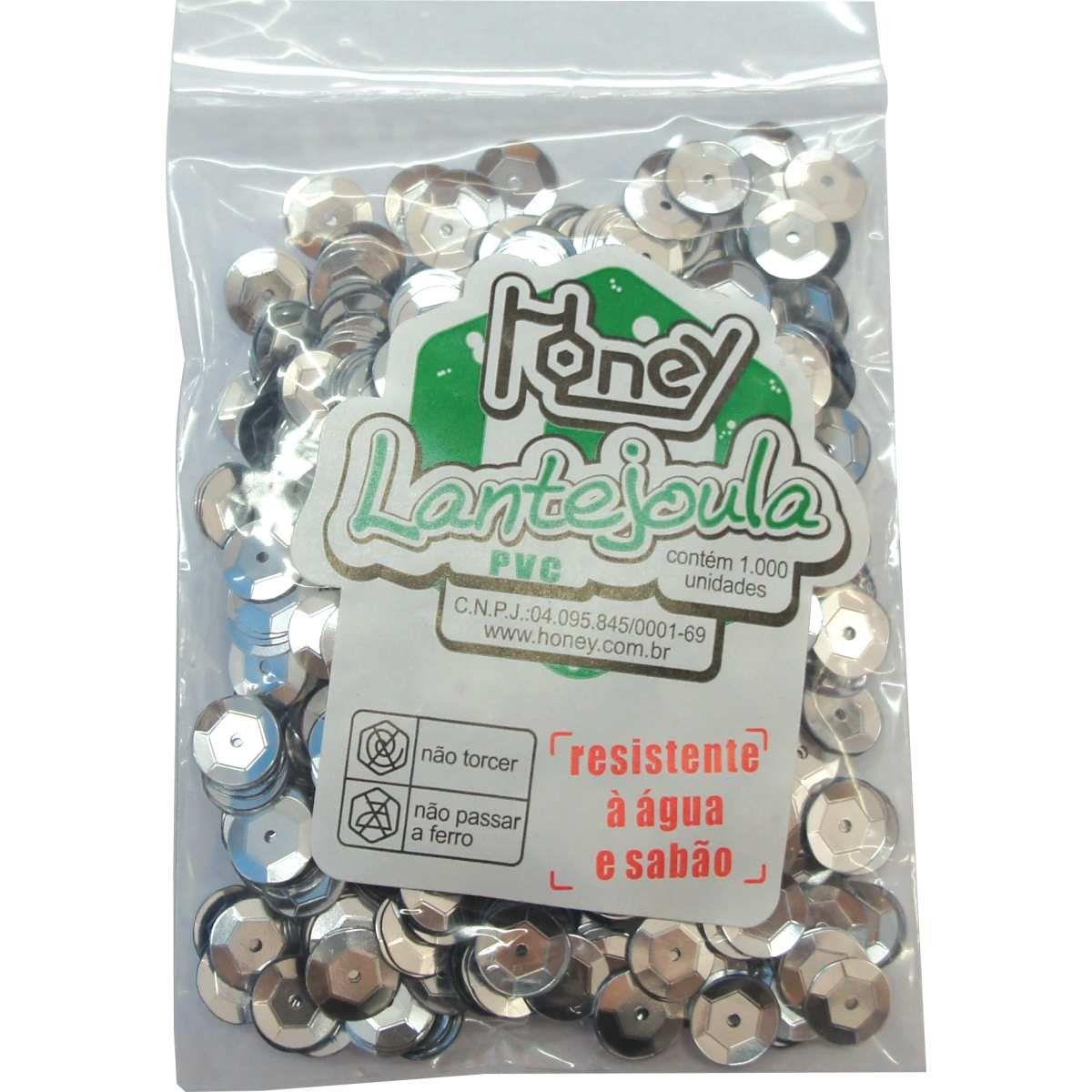 Lantejoula n°10 c/1000 prata Honey