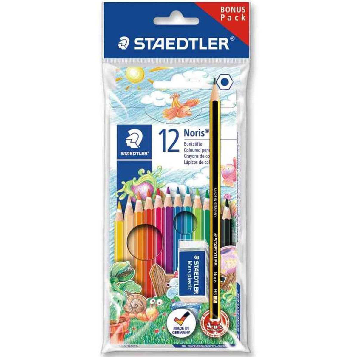 Lápis de cor 12 cores Staedtler