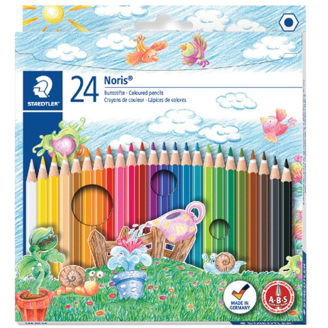 Lápis de cor 24 cores Staedtler