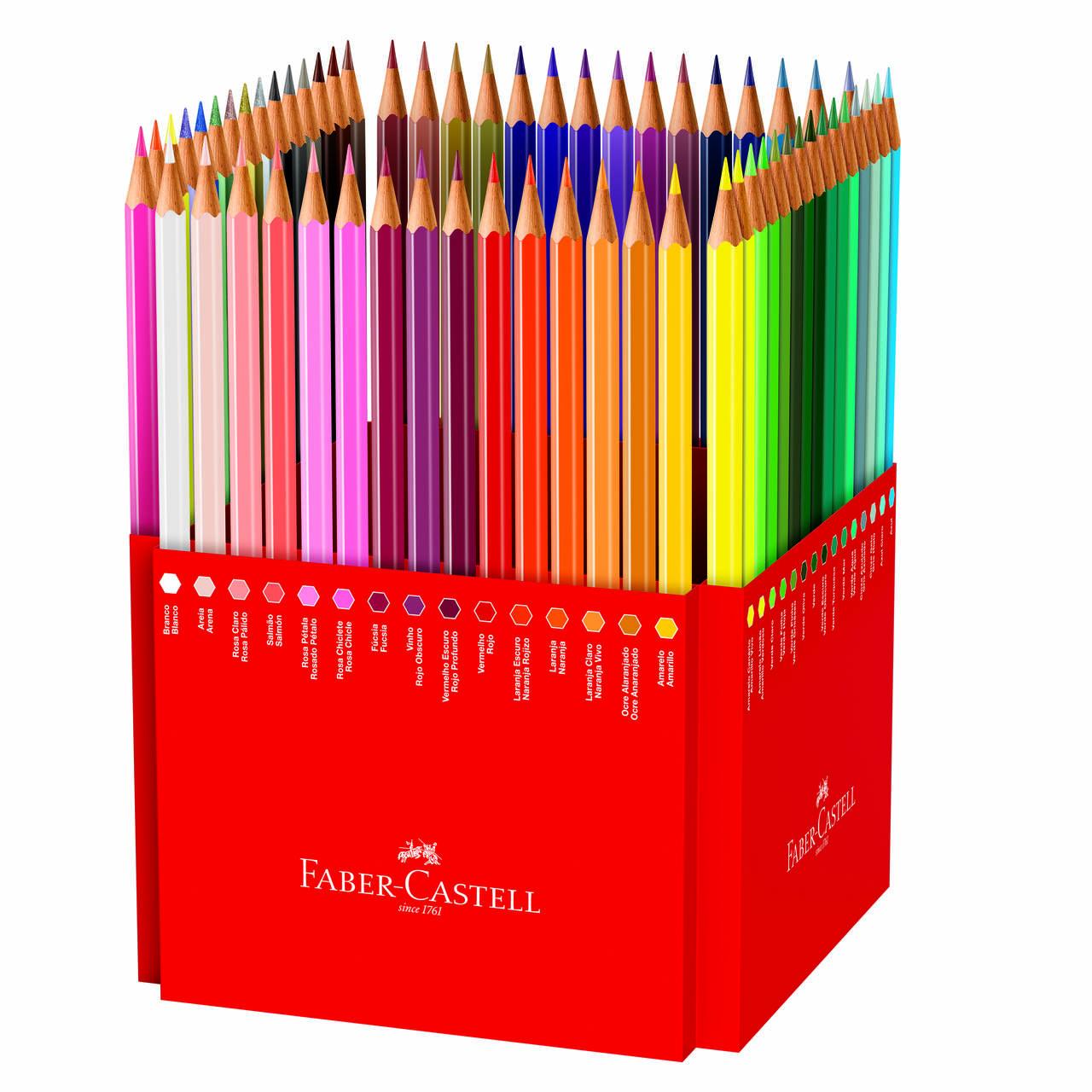 Lápis de cor 60 cores Faber-Castell