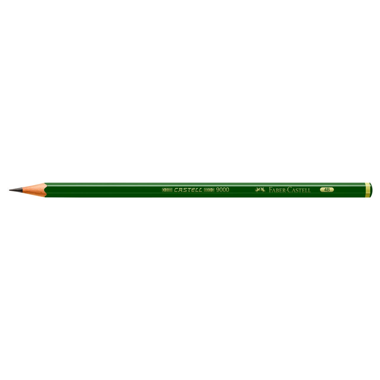 Lápis técnico 4B 9000 Faber-Castell