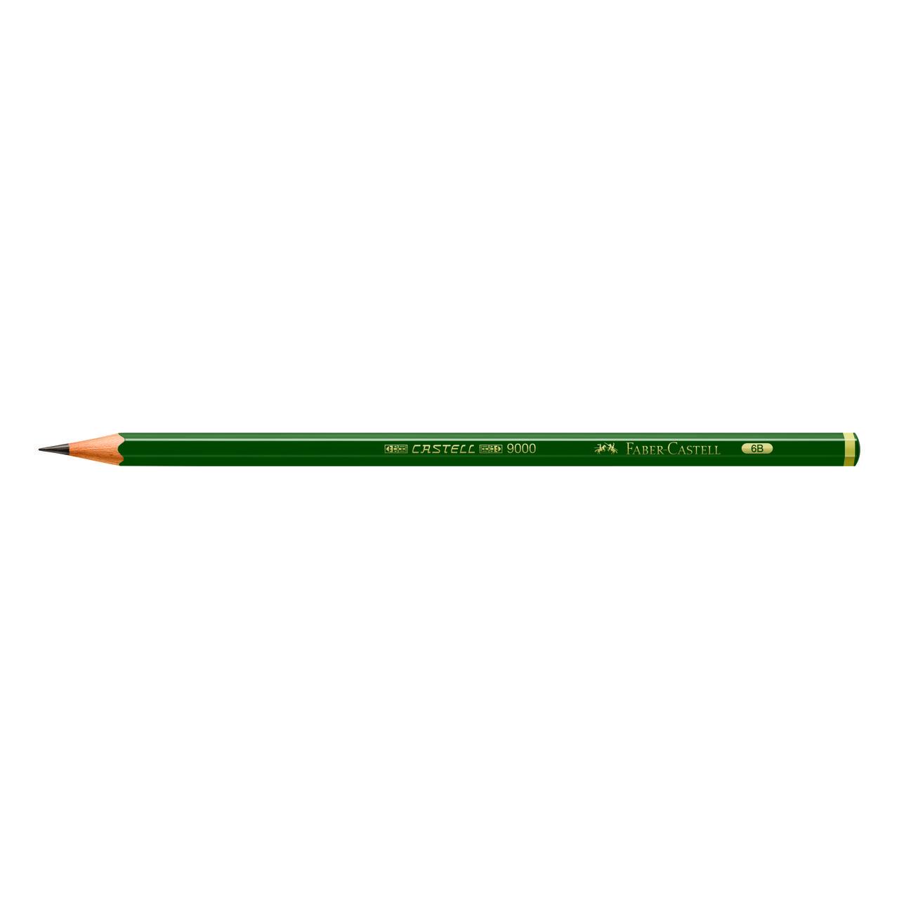 Lápis técnico 6B 9000 Faber-Castell