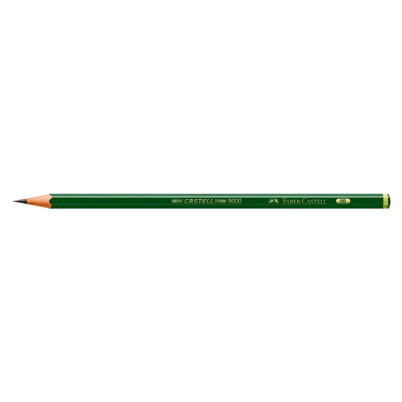 Lápis técnico 8B 9000 Faber-Castell