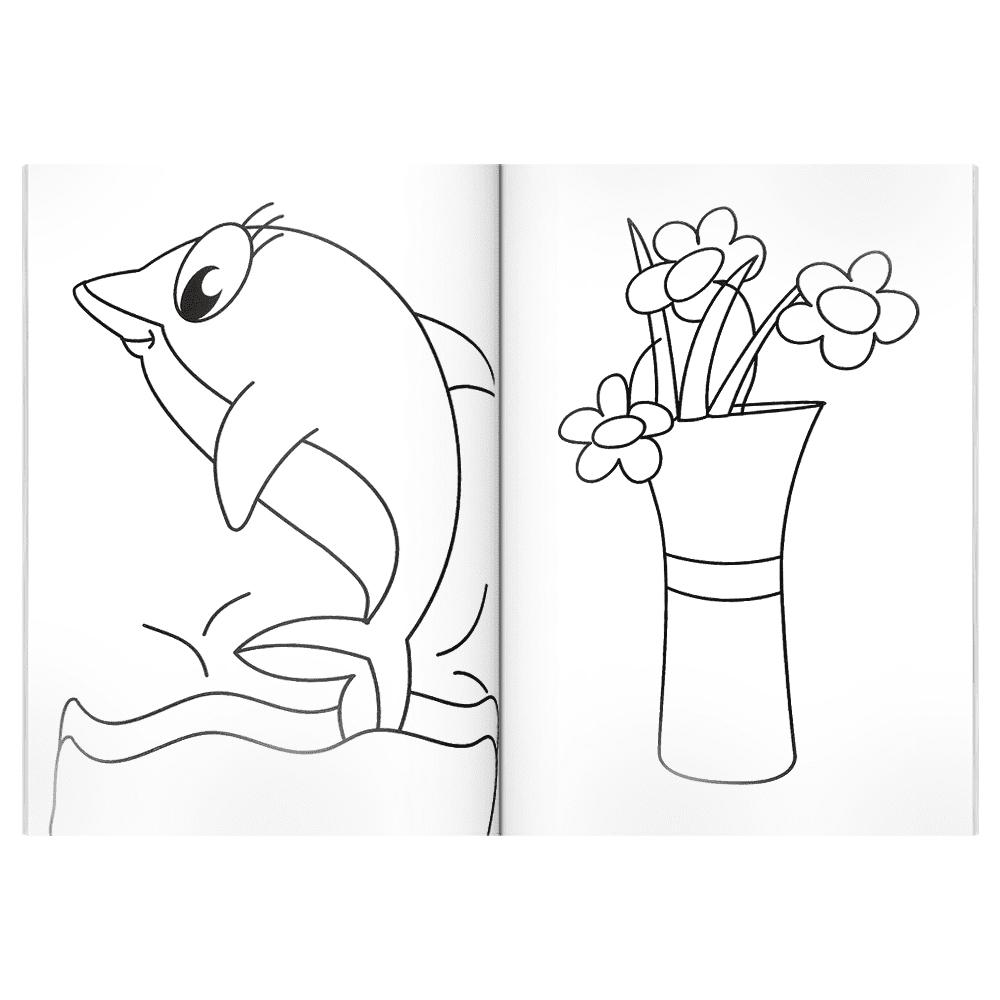 Livro infantil 365 desenhos para colorir 2 Todolivro