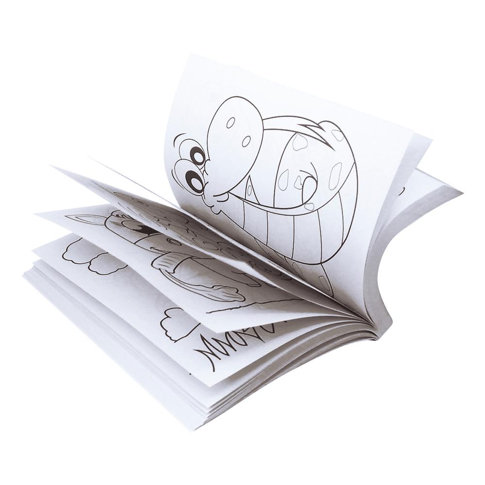 Livro infantil 365 desenhos para colorir 4 Todolivro