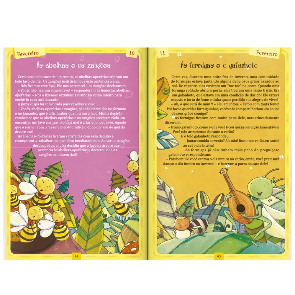 Livro infantil 365 histórias aconchegantes Todolivro