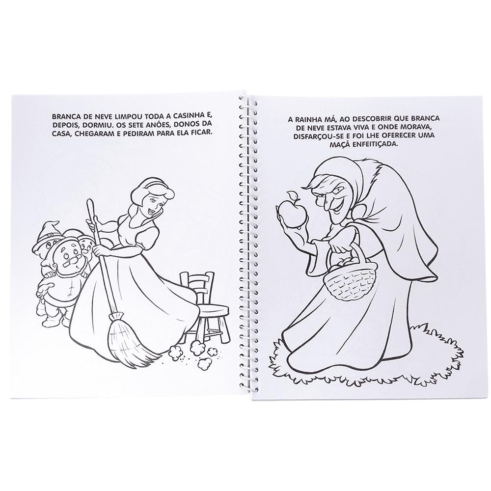 Livro infantil Colorindo histórias clássicas Todolivro