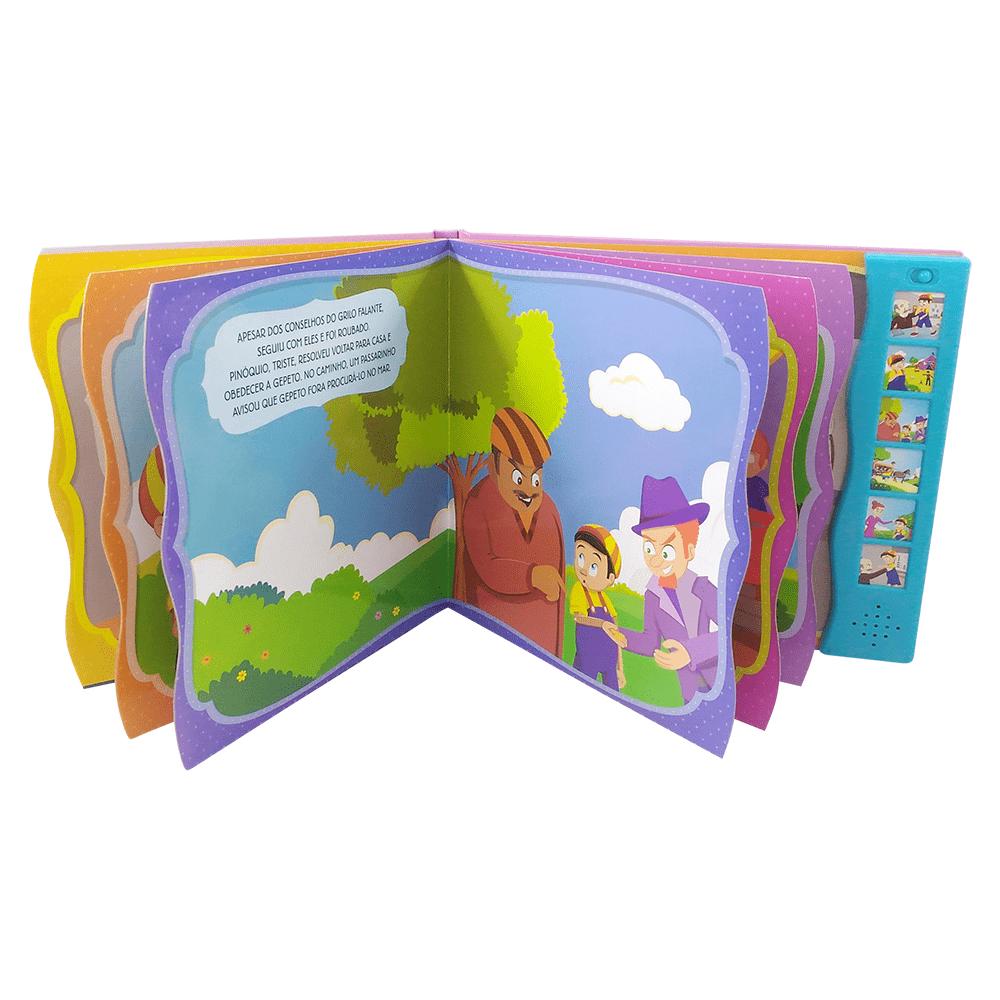 Livro infantil Ler e ouvir Pinóquio Todolivro