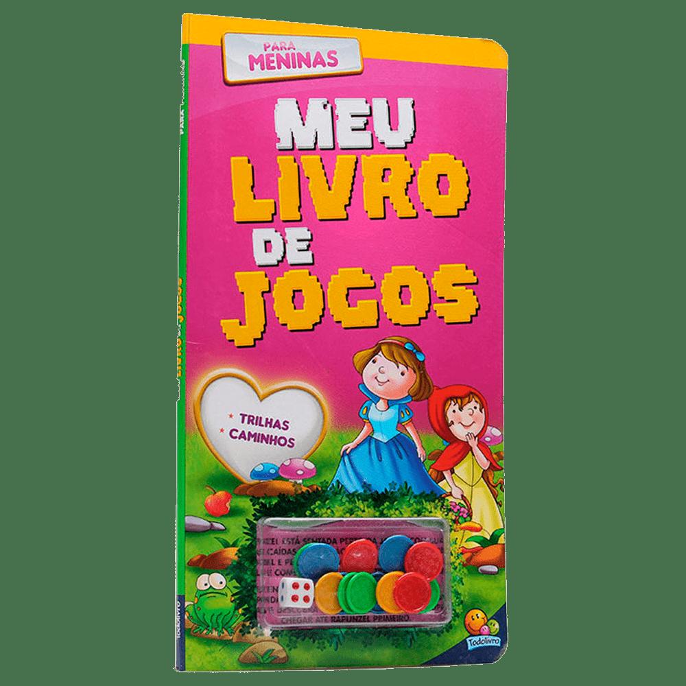 Livro infantil meu livro de jogos para meninas Todolivro