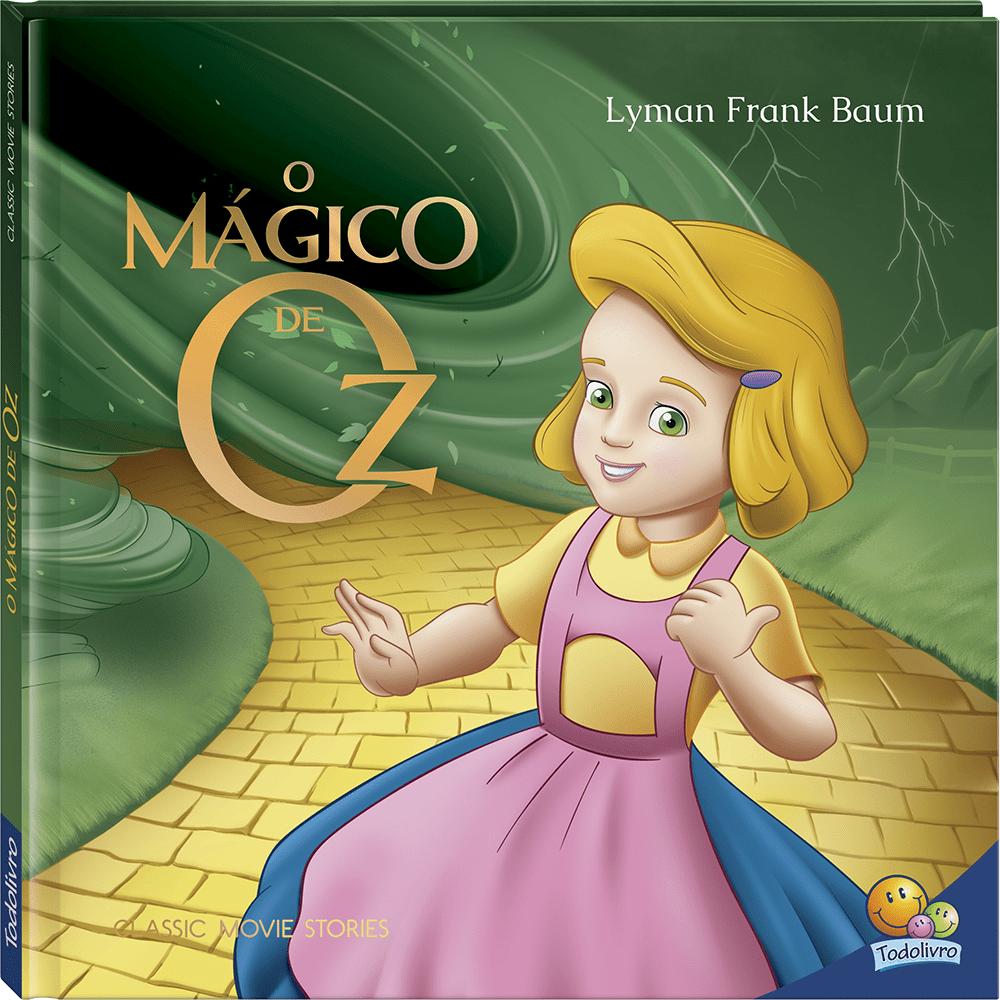 Livro infantil O Mágico de Oz Todolivro