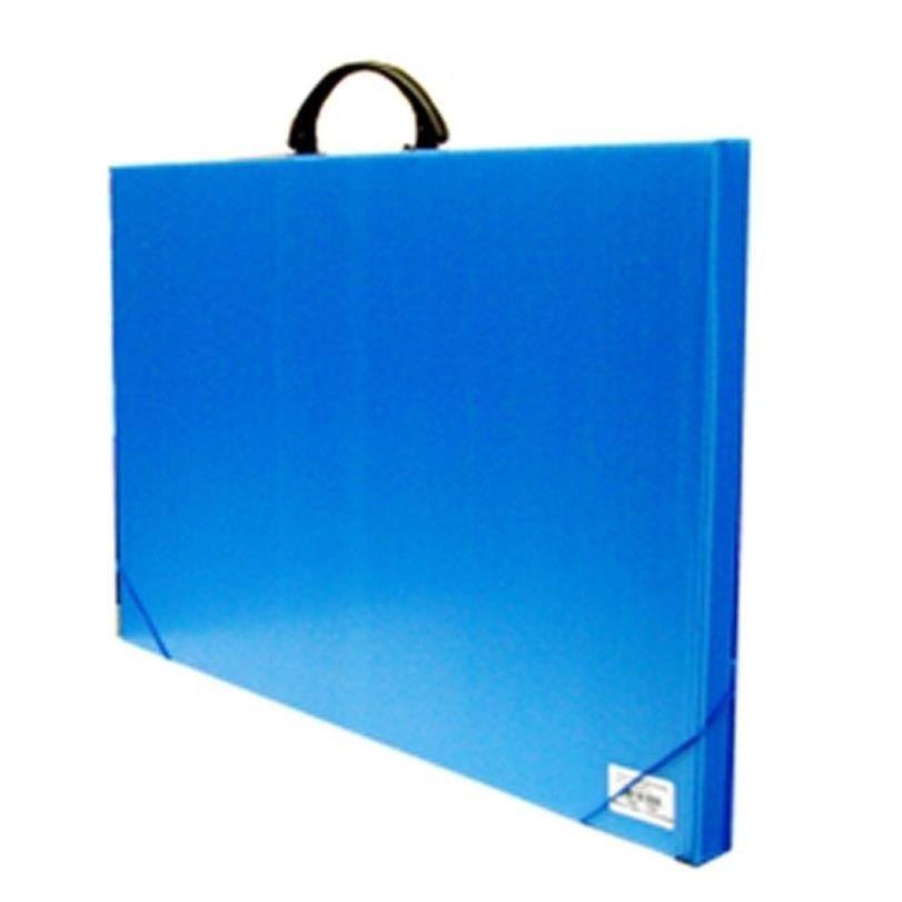 Maleta A3 azul Alaplast