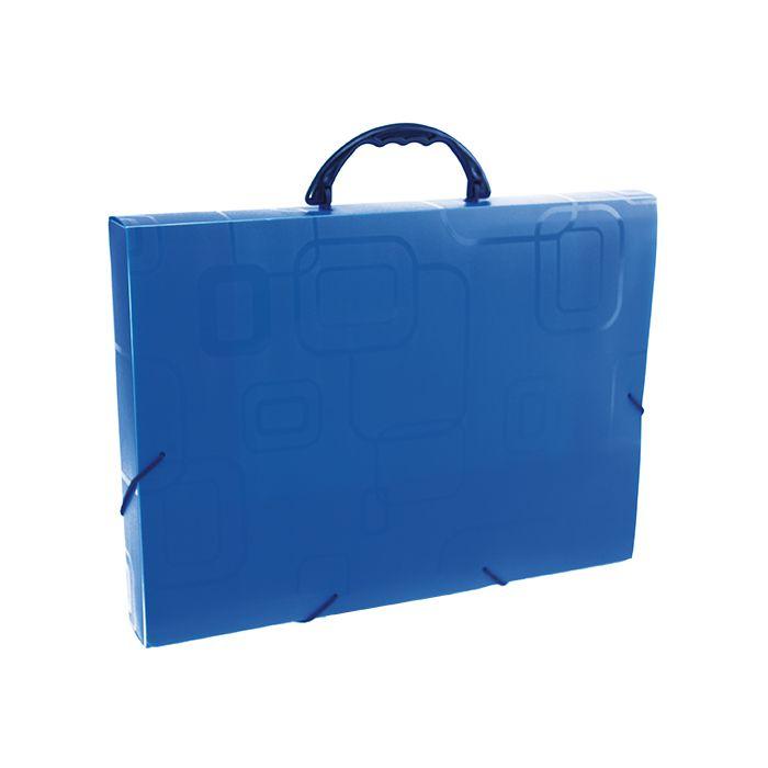 Maleta A4 azul Fine Dello