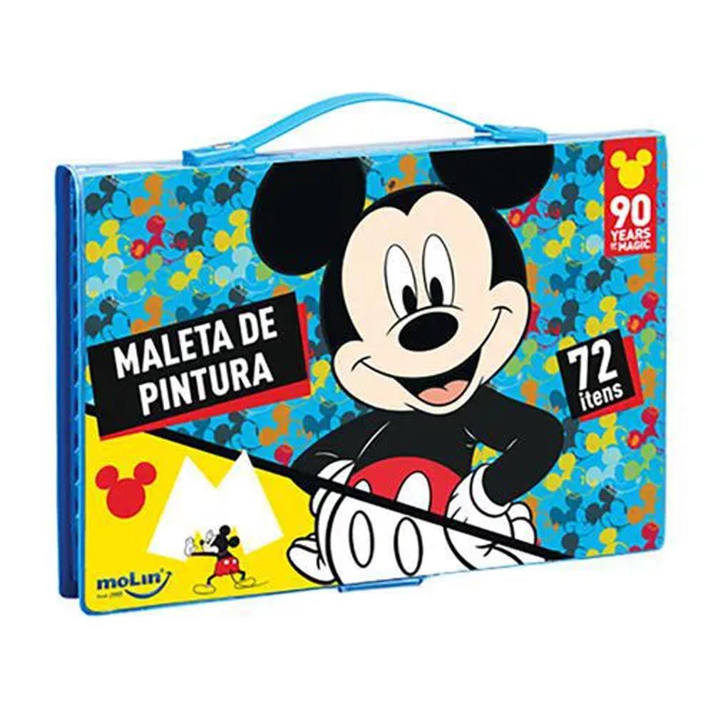 Maleta de pintura Mickey 72 itens Molin