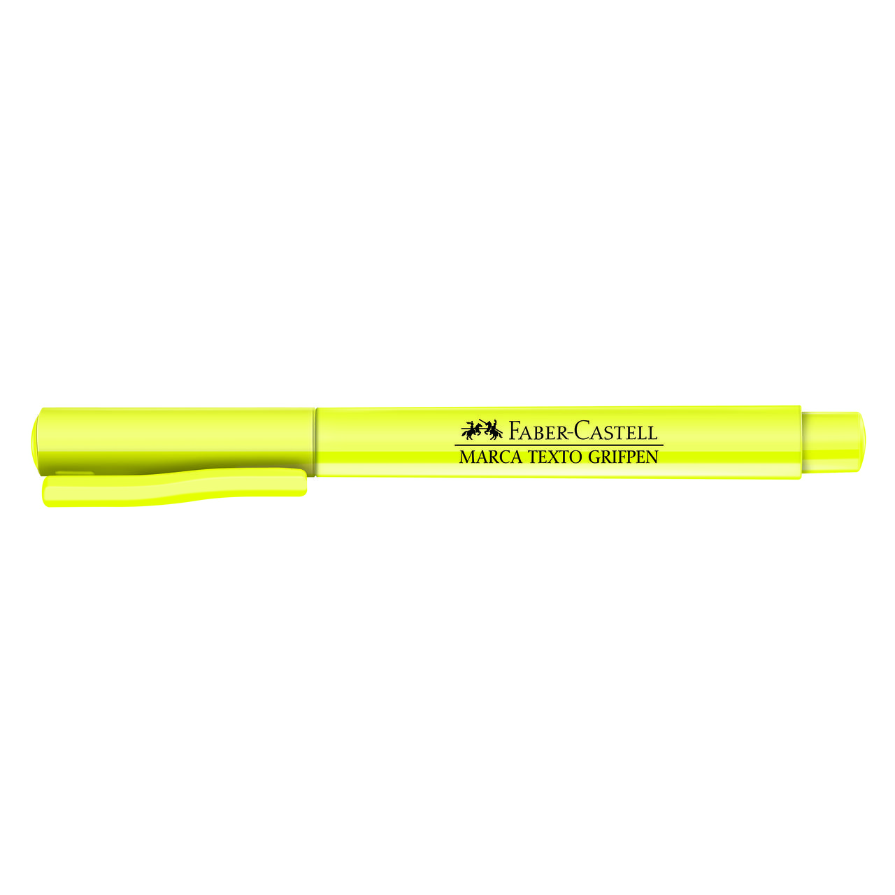 Marca texto amarelo Faber-Castell