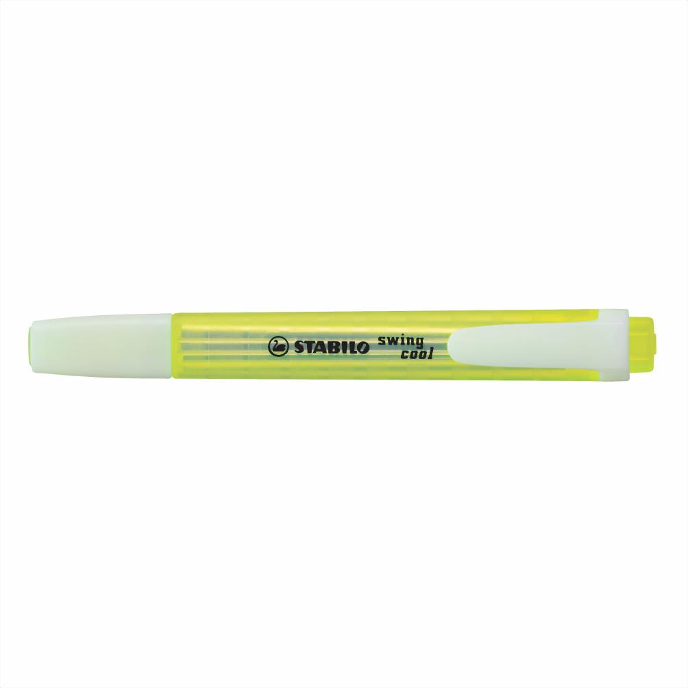 Marca texto amarelo SWING COOL Stabilo
