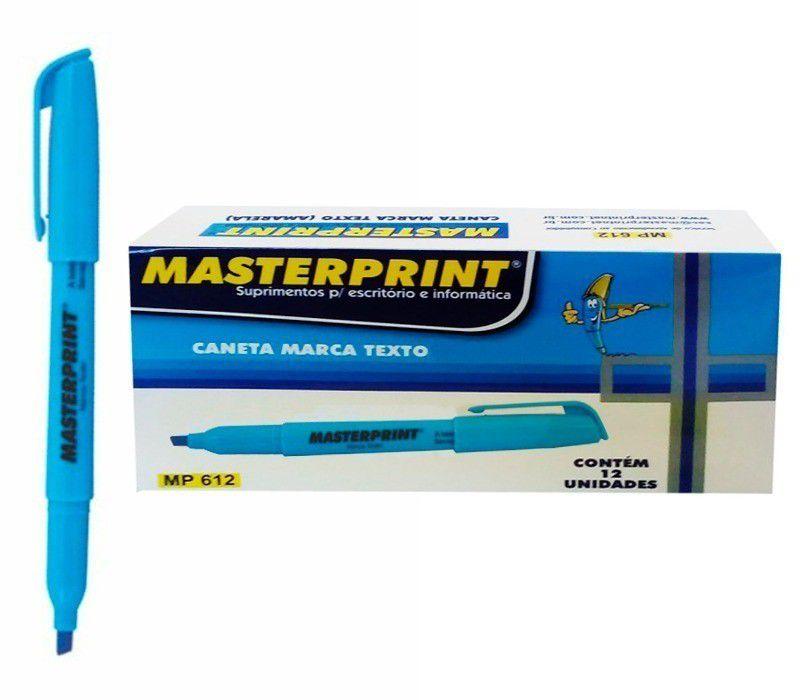 Marca texto azul 12 un Masterprint