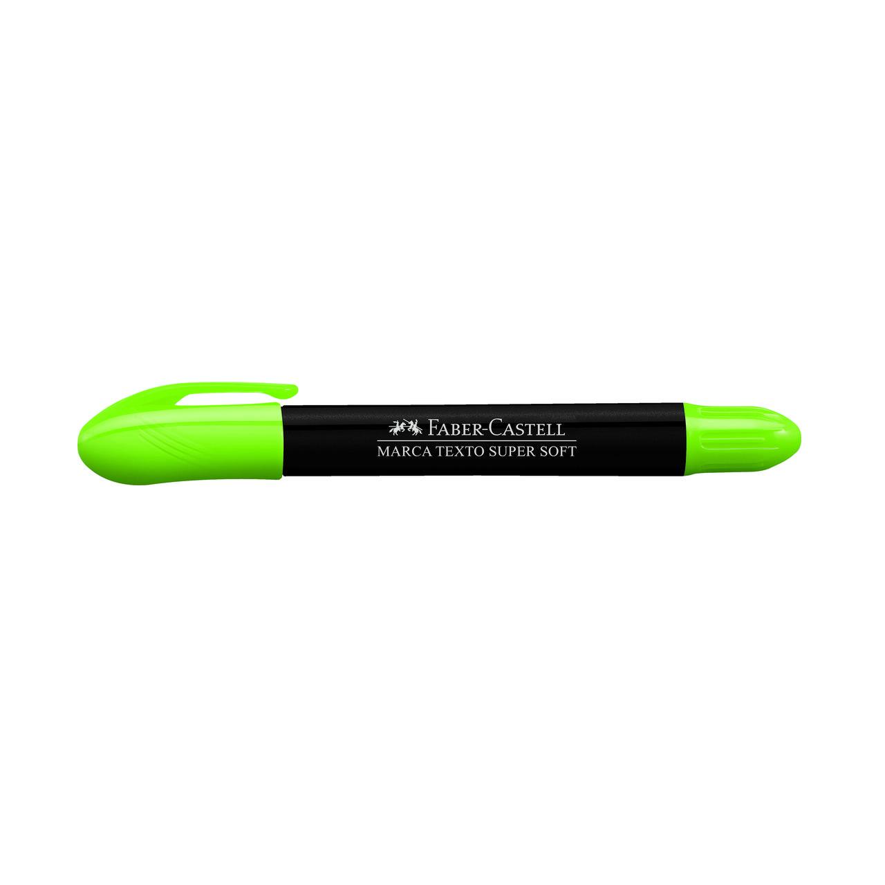 Marca texto gel verde Faber-Castell