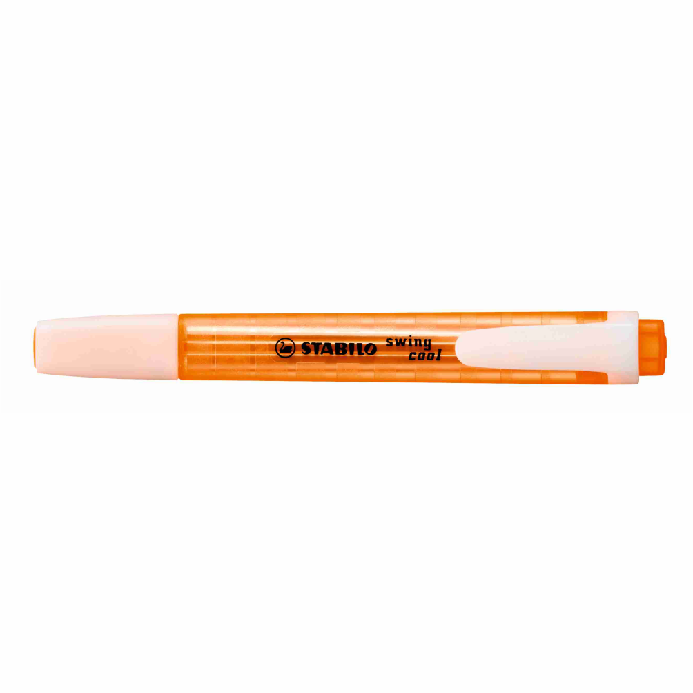Marca texto laranja SWING COOL Stabilo