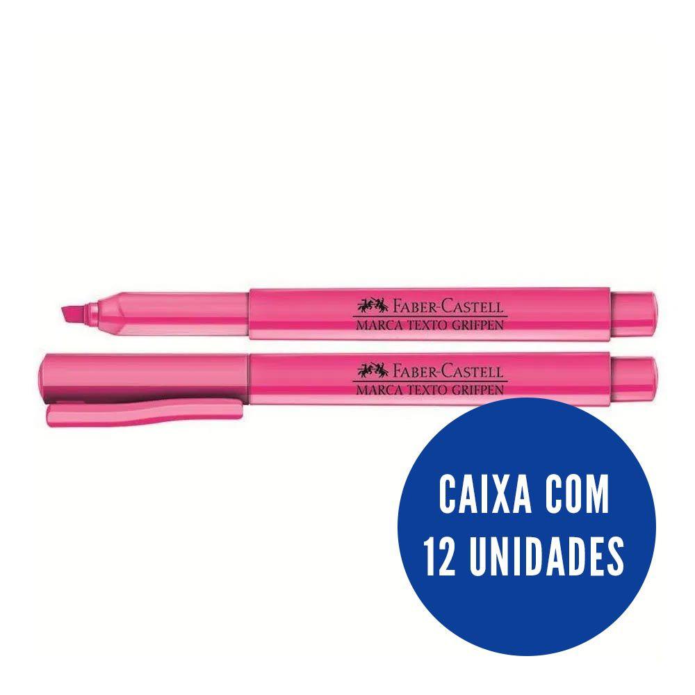 Marca texto rosa 12 un Faber-Castell