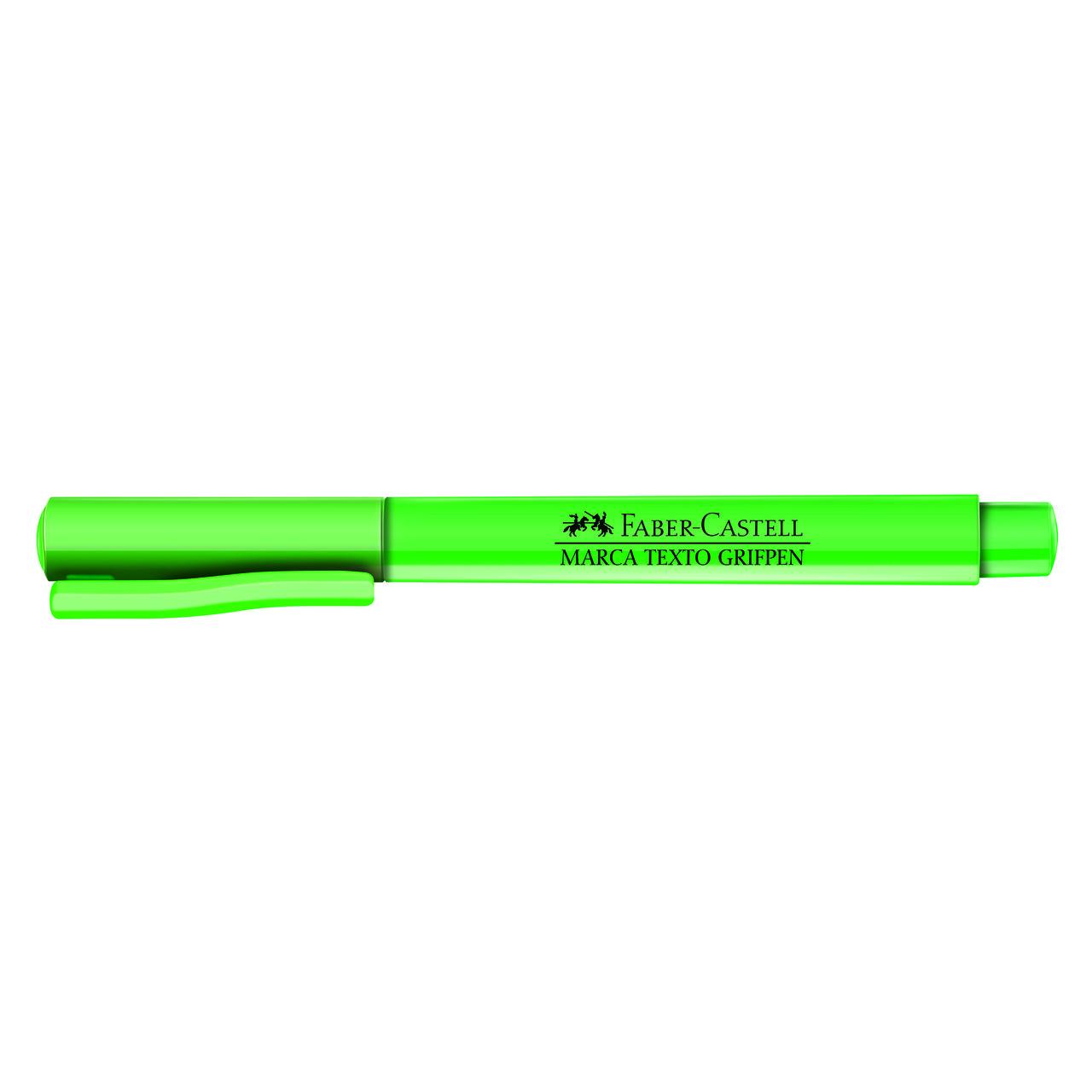 Marca texto verde Faber-Castell