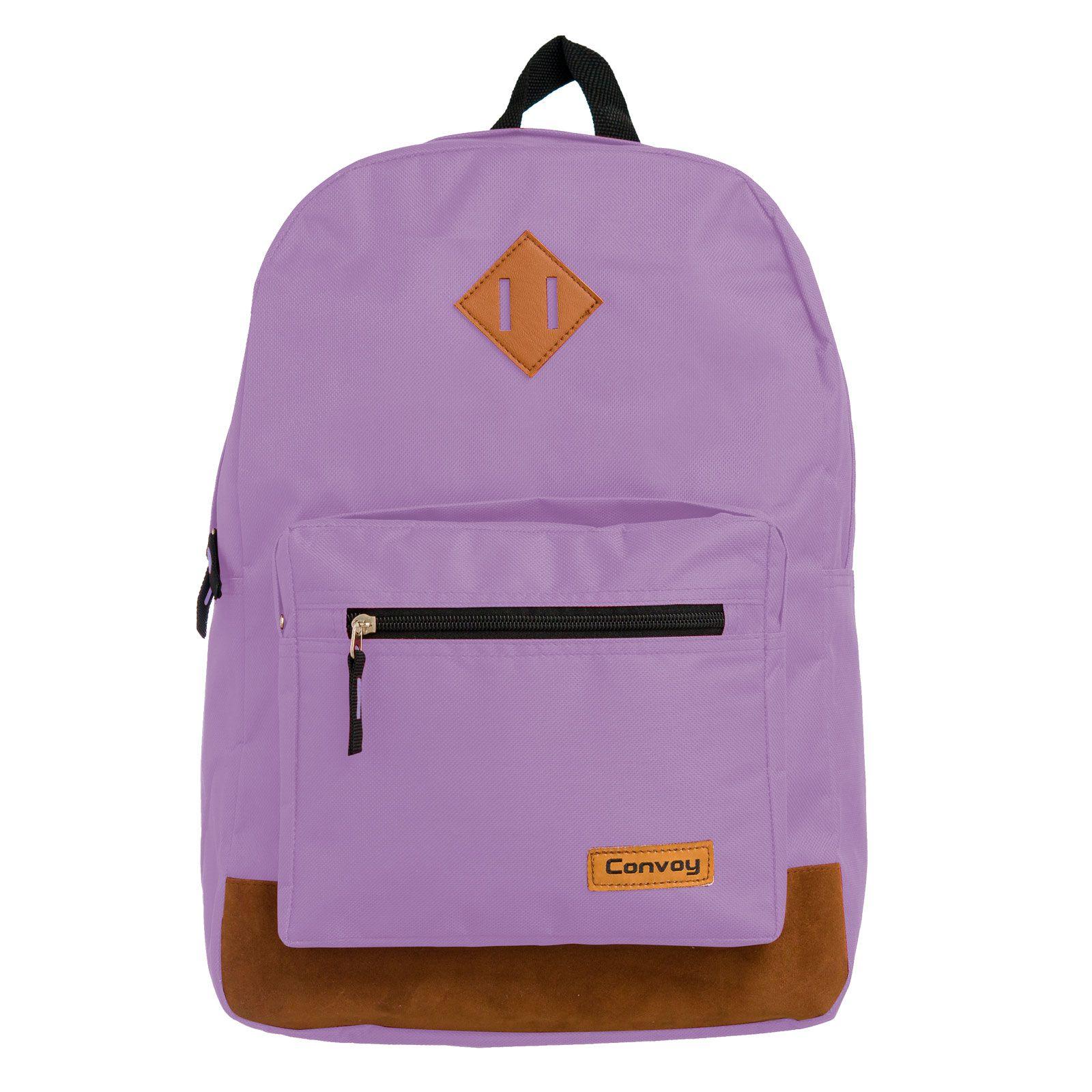 Mochila notebook lilás pastel YS29117 Convoy