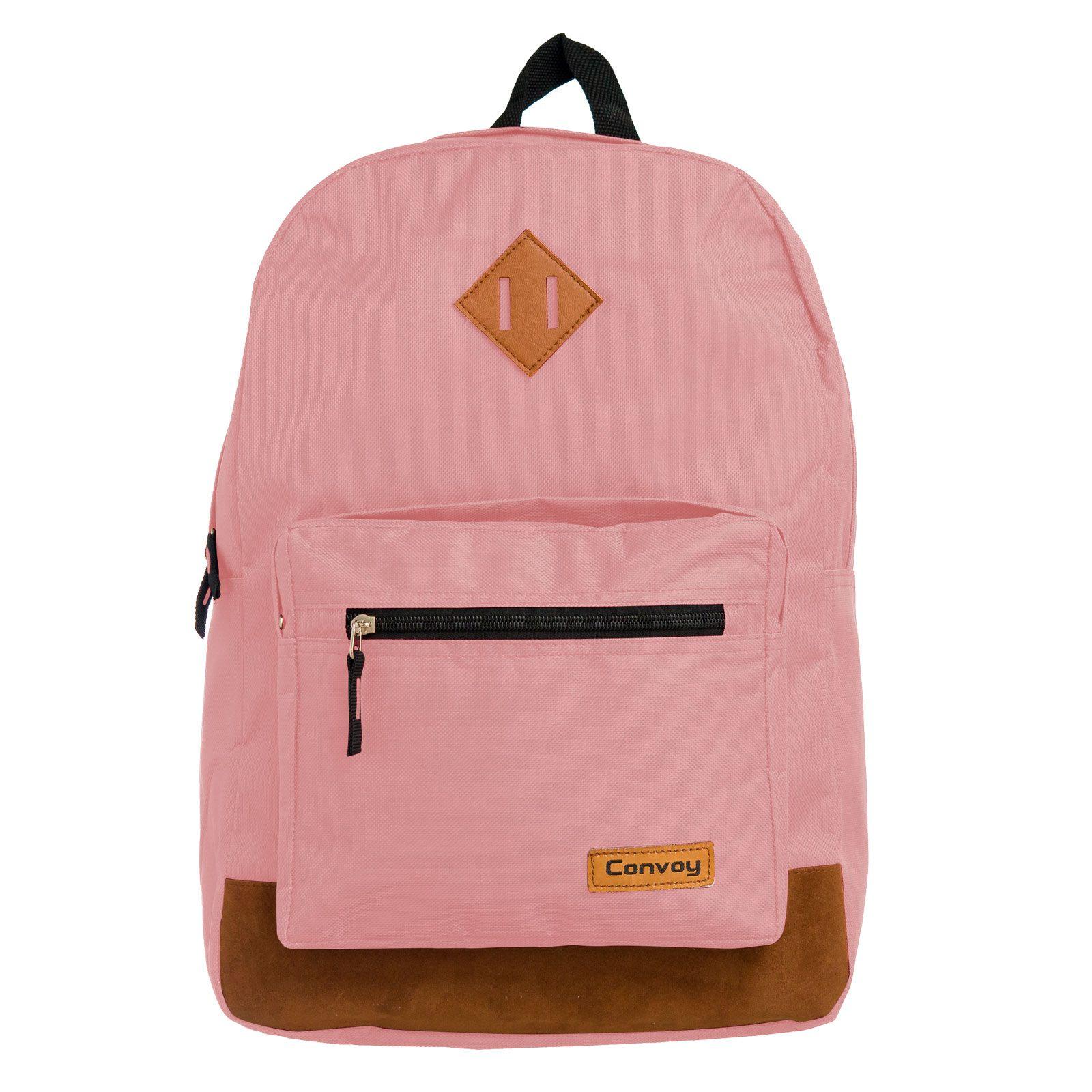 Mochila notebook rosa pastel YS29117 Convoy