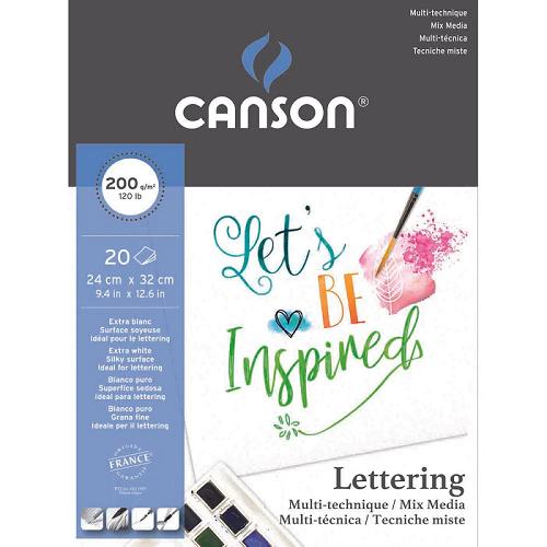 Papel cartão 20 fls 32x24cm 200G Canson