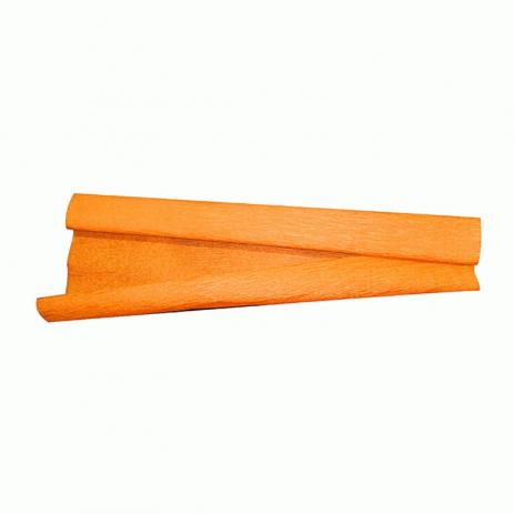 Papel crepom 48x200cm laranja Rst