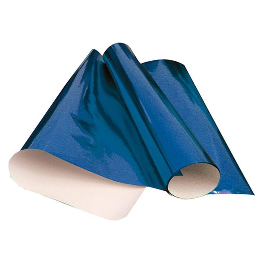 Papel laminado 48x60 azul Rst