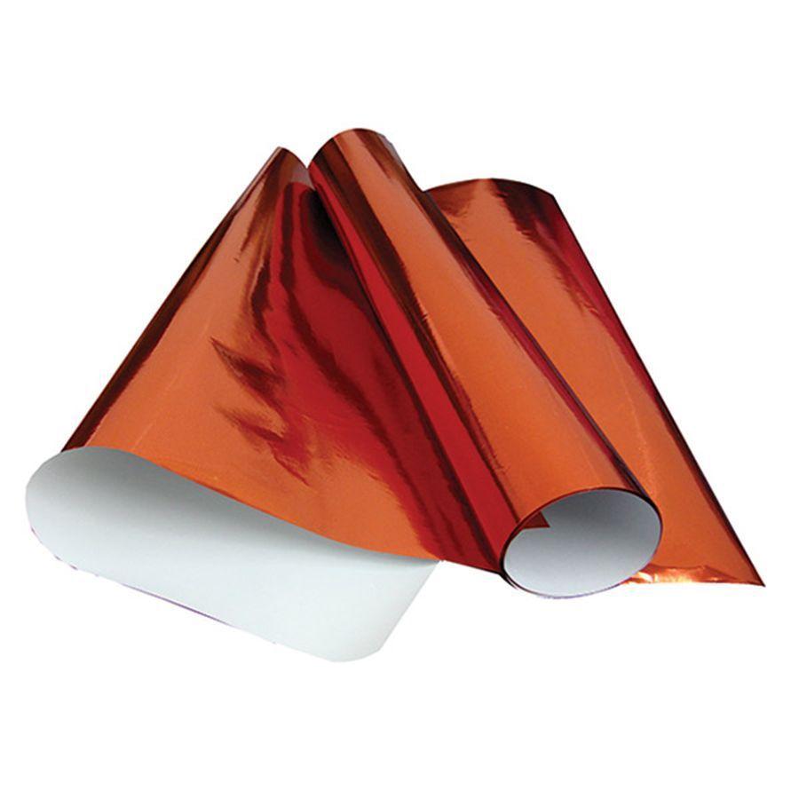 Papel laminado 48x60 vermelho Rst