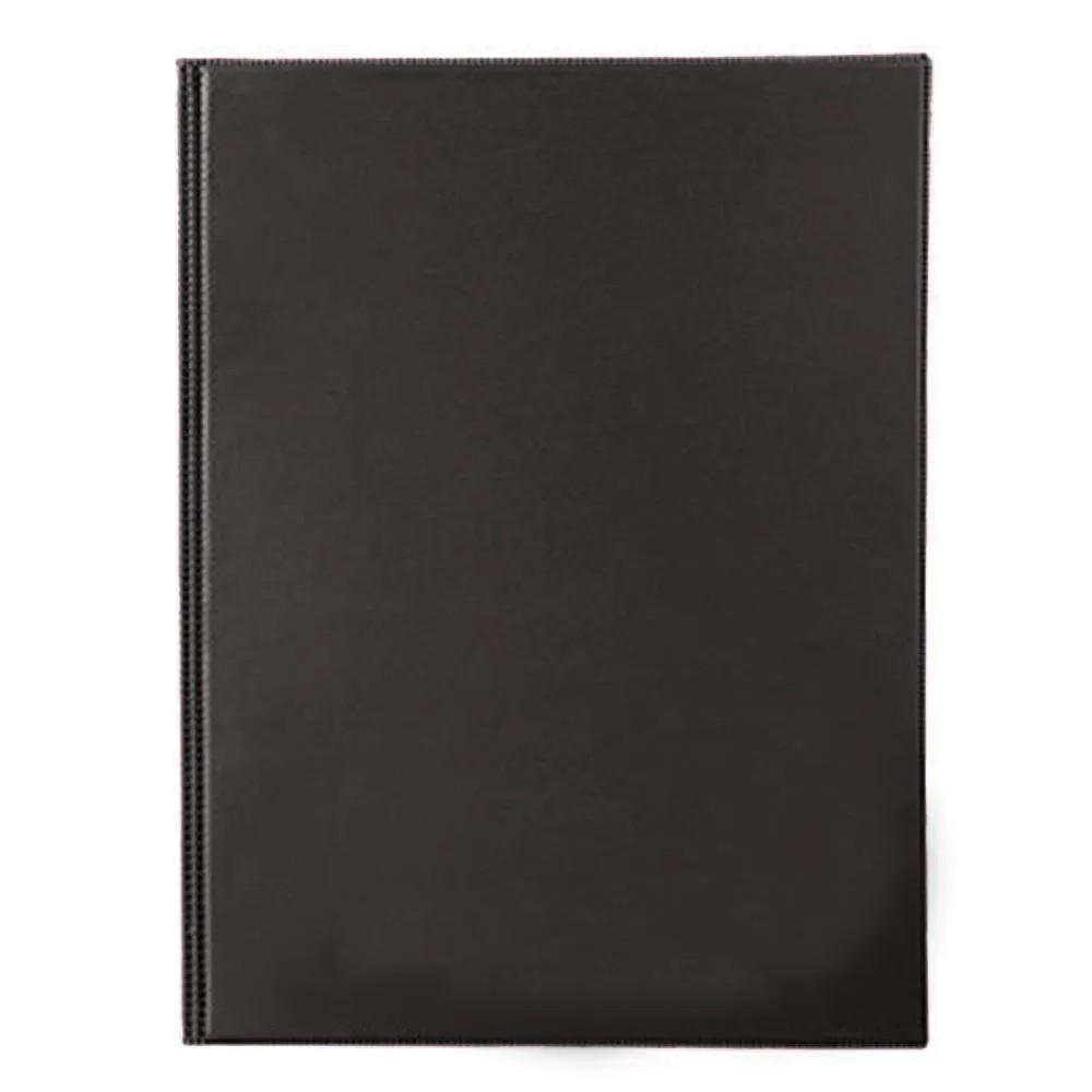 Pasta catálogo capa dura 50 envelopes preto Tn