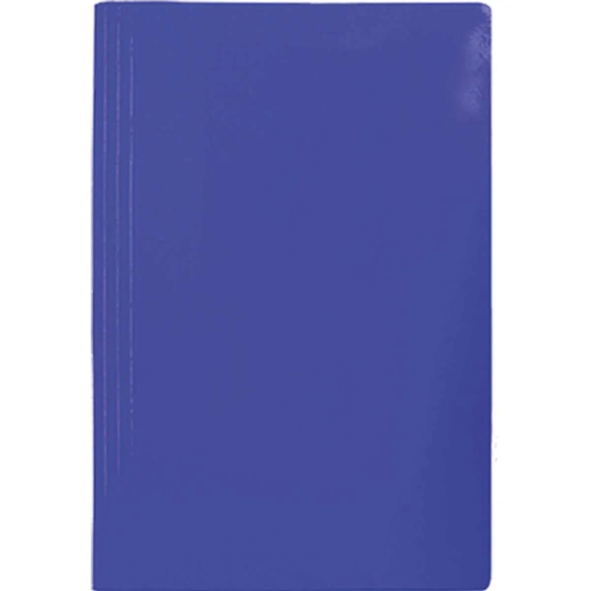 Pasta grampo trilho azul Papel Frama
