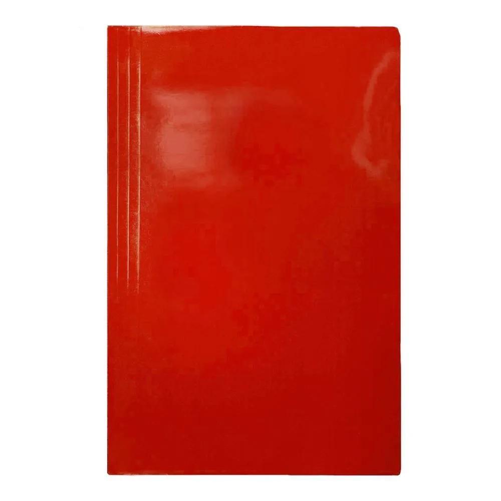 Pasta grampo trilho vermelho Papel Frama