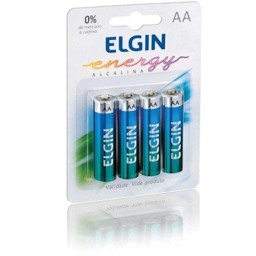 Pilha AAA alcalina 4 un Elgin