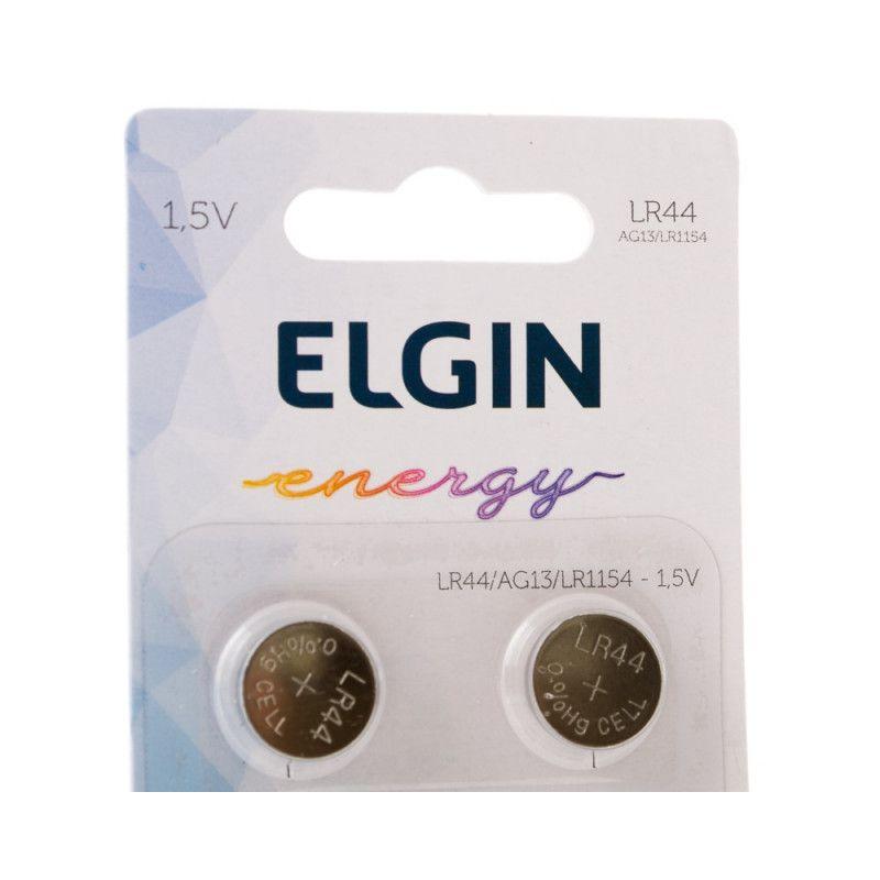 Pilha LR44 2 un Elgin