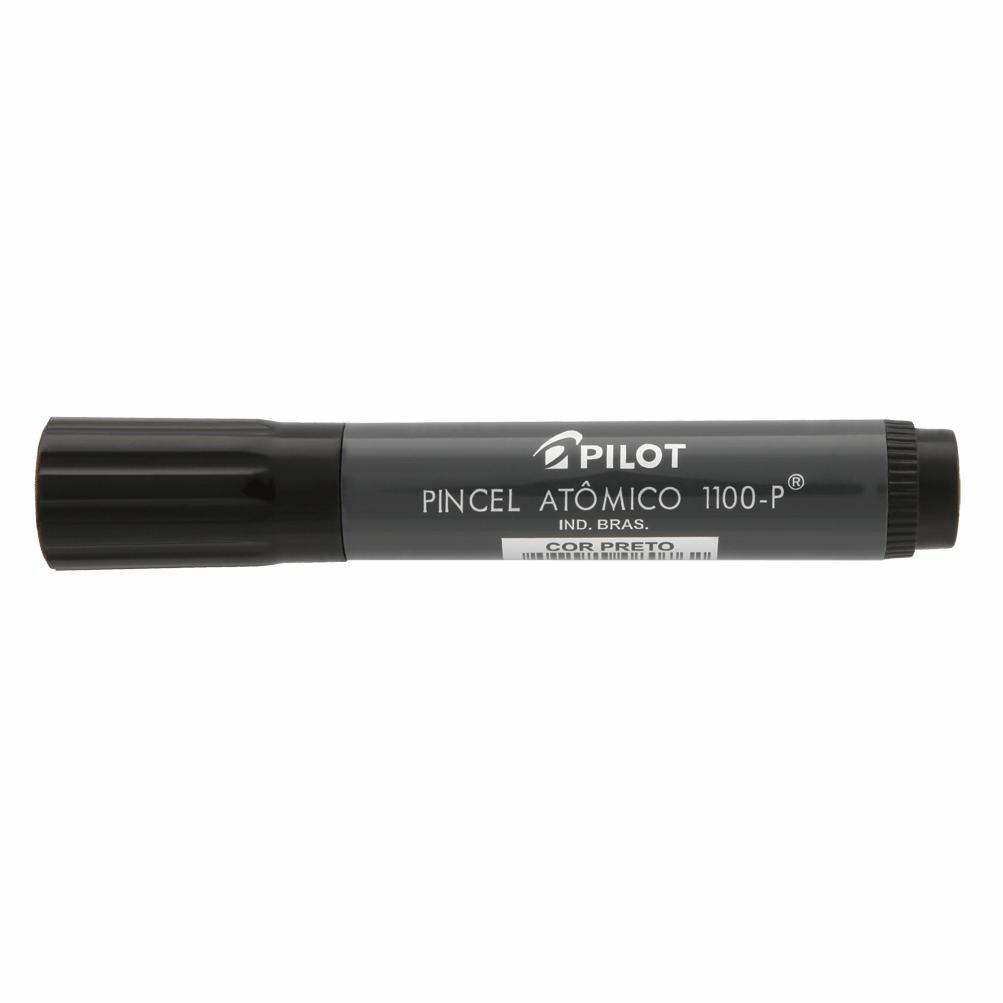 Pincel atômico recarregável preto 1100-P Pilot