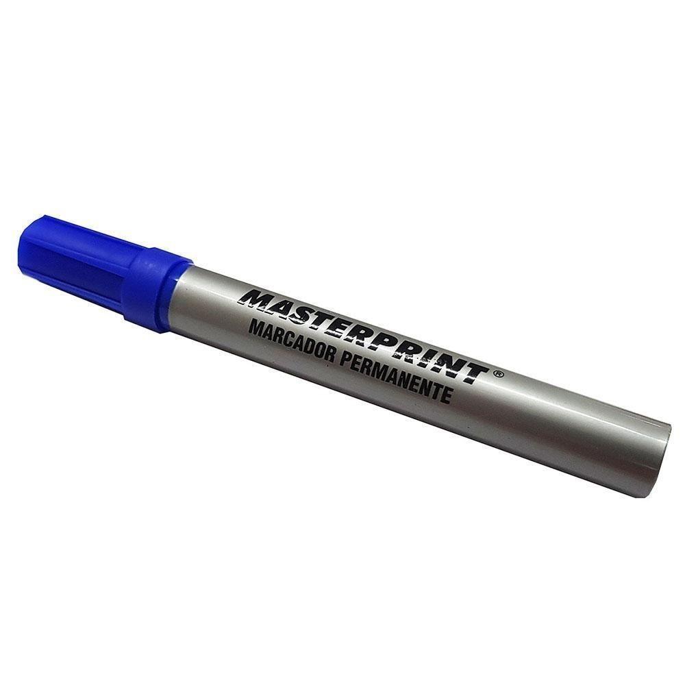 Pincel atômico recarregável azul Masterprint