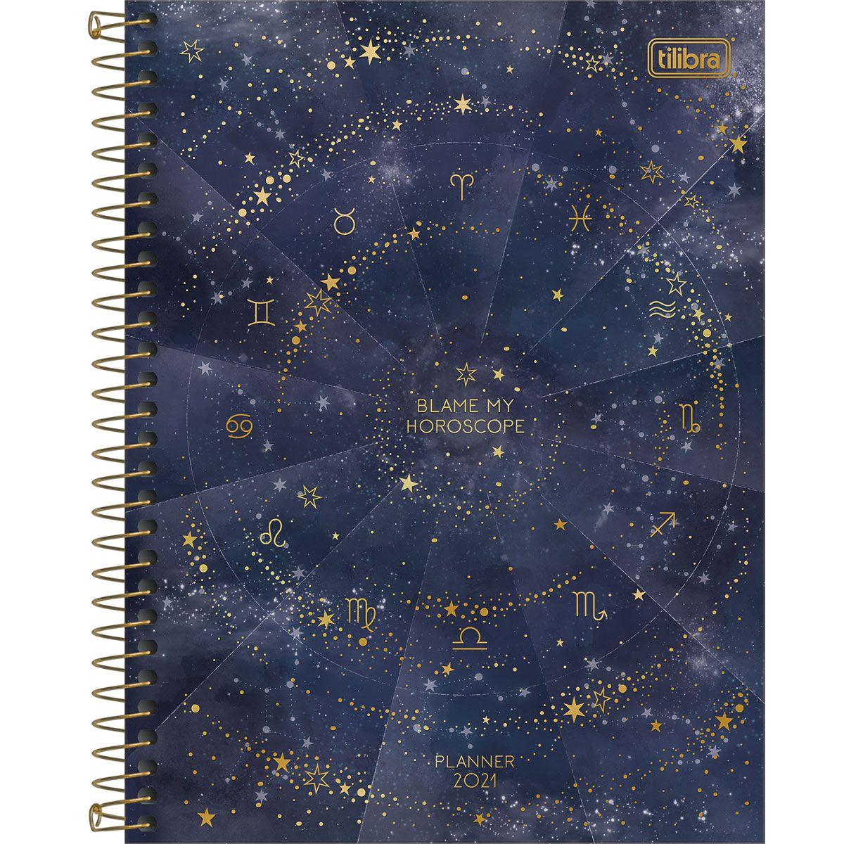 Planner semanal 2021 espiral 80 fls Magic M7 Tilibra