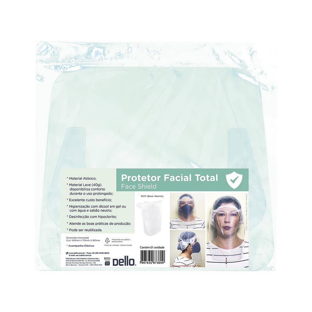 Protetor Facial com elástico Dello