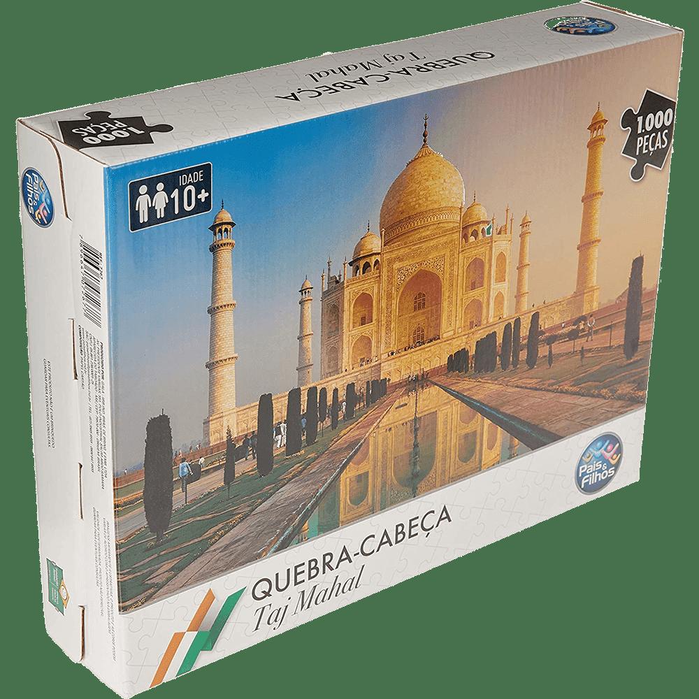 Quebra-cabeça 1000 peças Taj Mahal Pais e Filhos