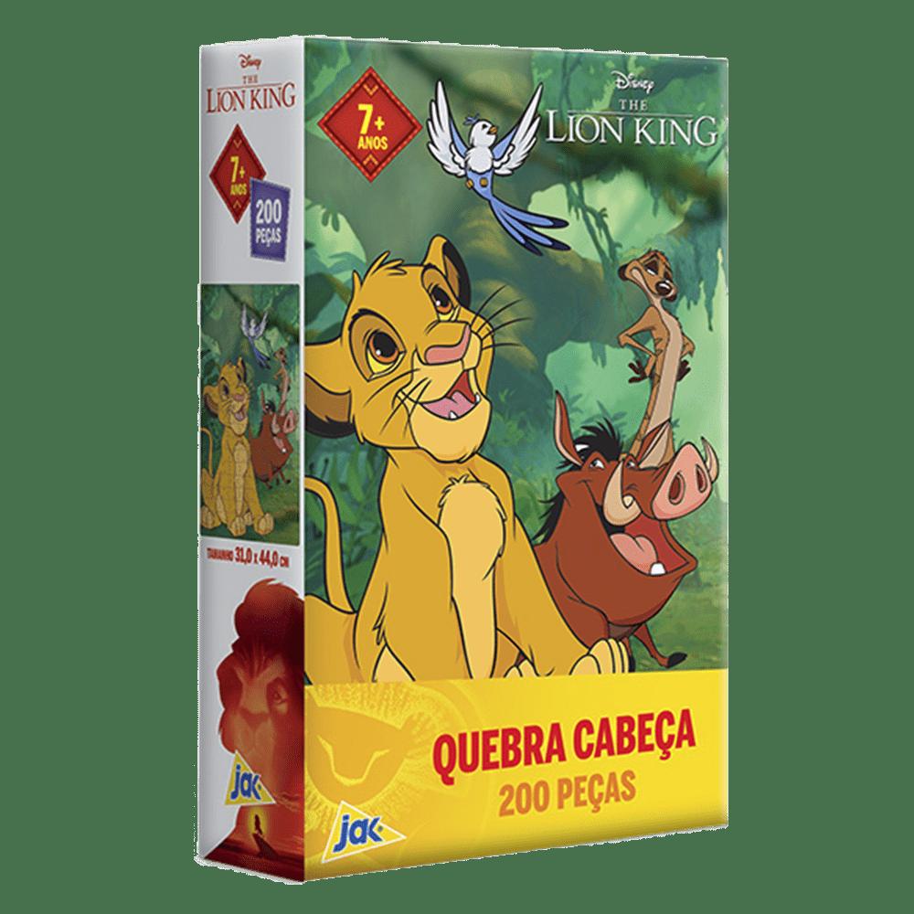 Quebra-cabeça 200 peças Lion King Jak